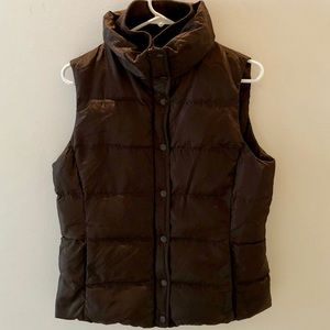 J. Crew Puffer Vest • Chocolate Brown
